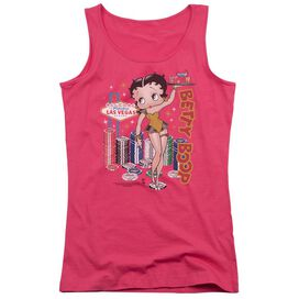 Betty Boop Wet Your Whistle Juniors Tank Top Hot