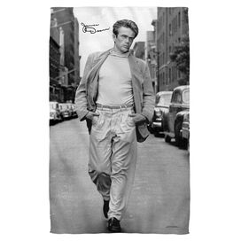 James Dean Walk Beach Towel