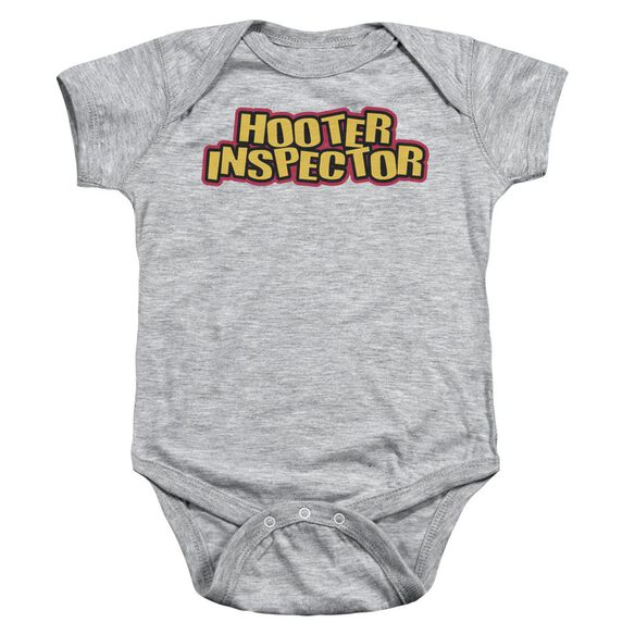 Hooter Inspector Infant Snapsuit Athletic Heather Md