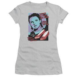 Wizard Of Oz Click 3 Times Short Sleeve Junior Sheer T-Shirt