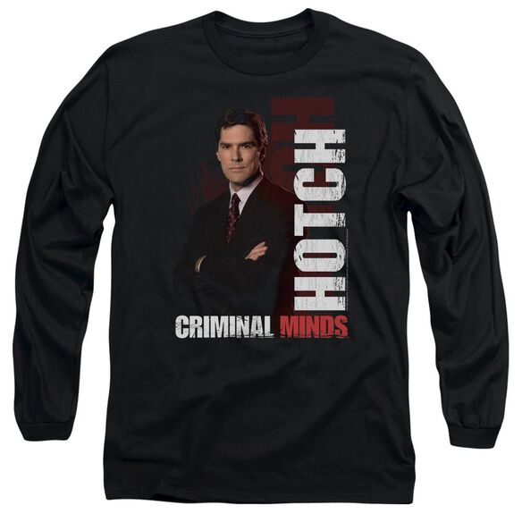 Criminal Minds Hotch Long Sleeve Adult T-Shirt