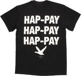 Duck Dynasty Hap-Pay Black T-Shirt