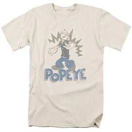 POPEYE SAILOR MAN - S/S ADULT 18/1 - SAND T-Shirt