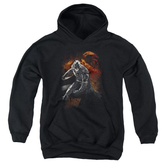 Dark Knight Rises Grungy Knight Youth Pull Over Hoodie