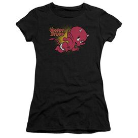 Hot Stuff Little Devil Short Sleeve Junior Sheer T-Shirt