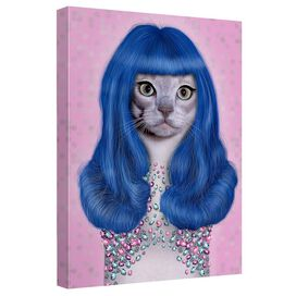 Pets Rock Gurl Quickpro Artwrap Back Board