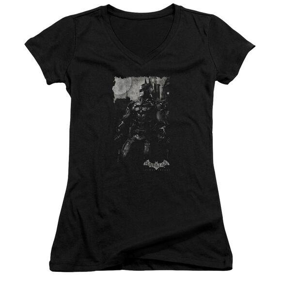 Batman Arkham Knight Bat Brood Junior V Neck T-Shirt