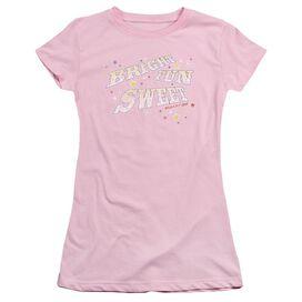 Smarties Bright Fun Sweet Short Sleeve Junior Sheer T-Shirt