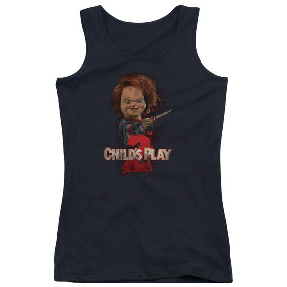 Childs Play 2 Heres Chucky Juniors Tank Top