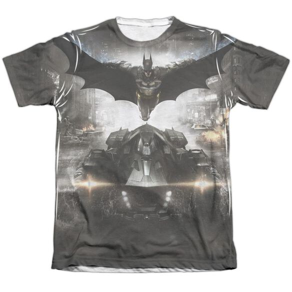 Batman Arkham Knight Poster Adult Poly Cotton Short Sleeve Tee T-Shirt
