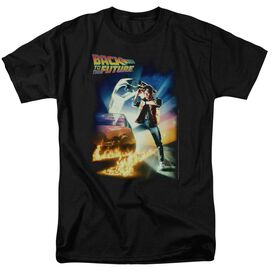 Back To The Future Poster Short Sleeve Adult T-Shirt