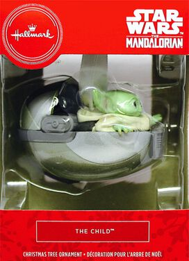 Star Wars The Mandalorian The Child Christmas Ornament