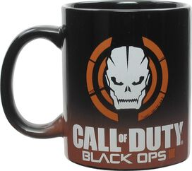 Call of Duty Black Ops 3 Skull Logo Mug