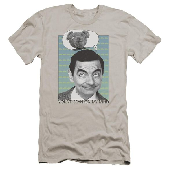 Mr Bean On My Mind Premuim Canvas Adult Slim Fit