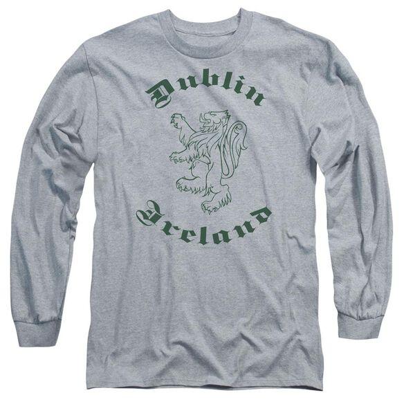 Dublin Ireland Long Sleeve Adult Athletic T-Shirt