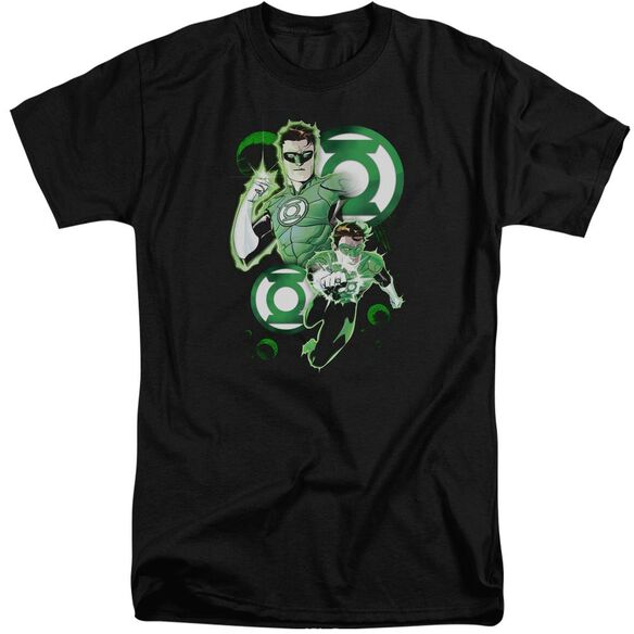 Jla Gl In Action Short Sleeve Adult Tall T-Shirt