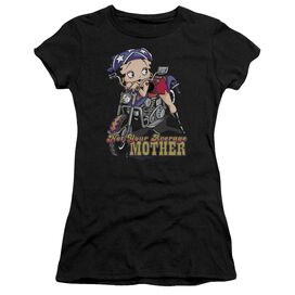 Betty Boop Not Your Average Mother Short Sleeve Junior Sheer T-Shirt