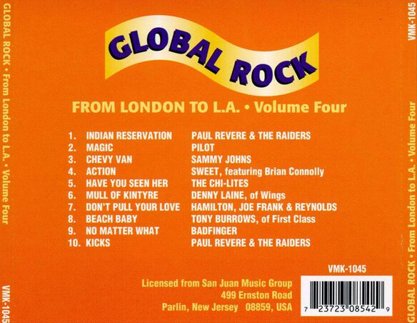 Vol. 4 From London To L.A