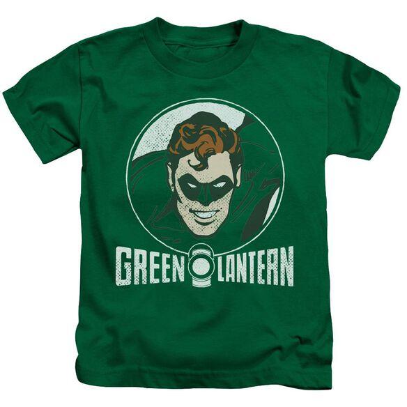 Dc Lantern Circle Short Sleeve Juvenile Kelly T-Shirt