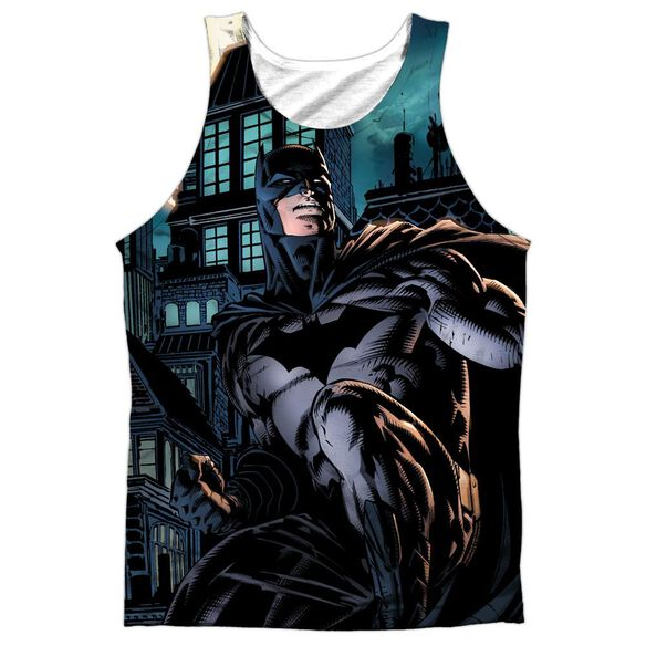 Batman Coming For You Adult 100% Poly Tank Top
