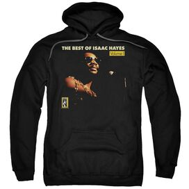 Isaac Hayes Chain Vest Adult Pull Over Hoodie Black