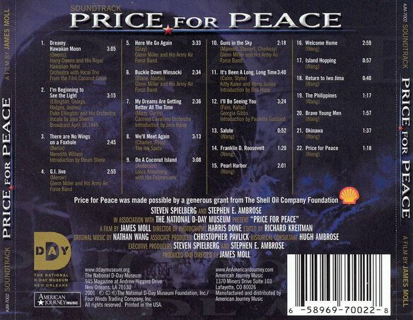 Price For Peace 0602