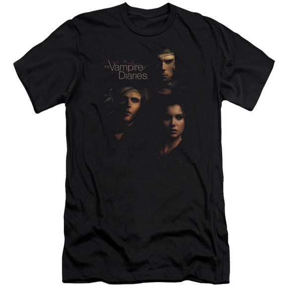 Vampire Diaries Smokey Veil Premuim Canvas Adult Slim Fit