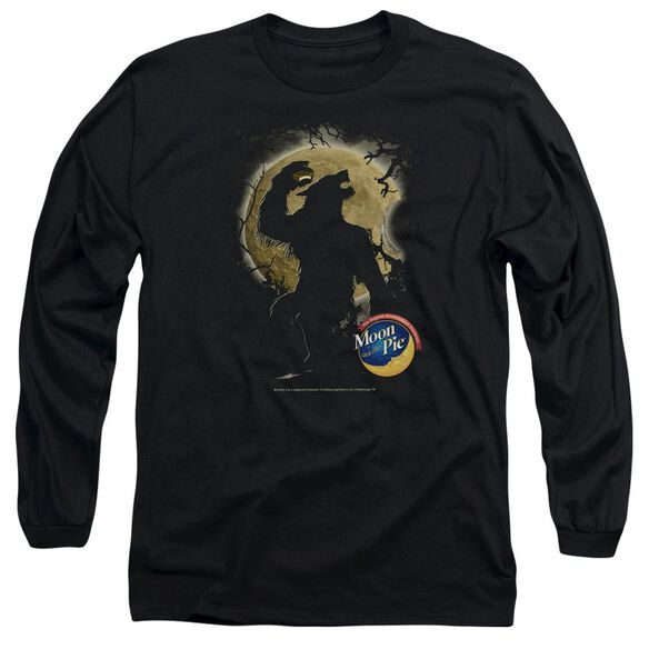 Moon Pie Howling Moon Pie Long Sleeve Adult T-Shirt