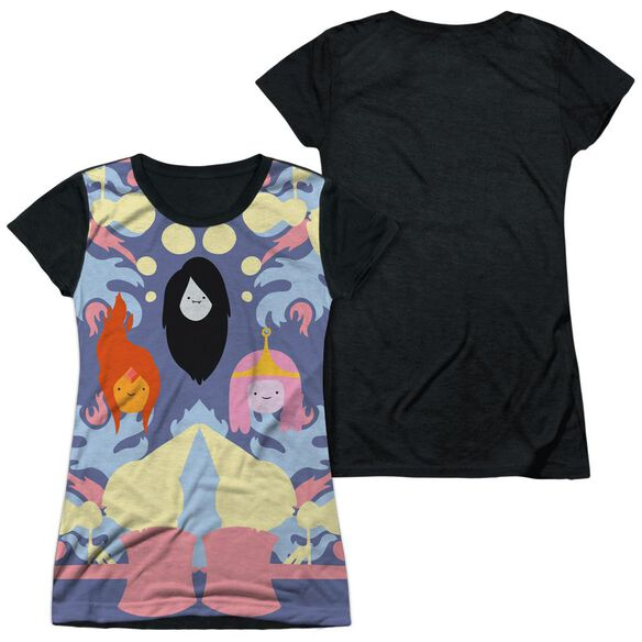 ADVENTURE TIME PB, FP & MARCELINE-S/S JUNIOR POLY T-Shirt