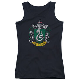 Harry Potter Slytherin Crest-juniors Tank Top