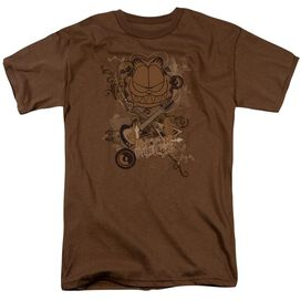 GARFIELD ROCK RULES - S/S ADULT 18/1 T-Shirt