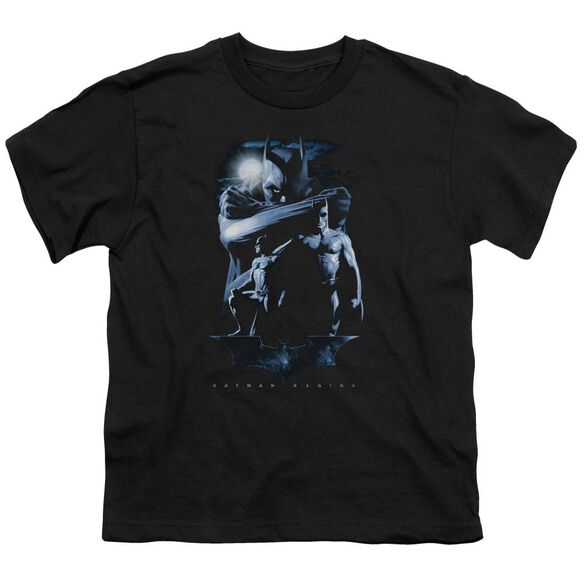 Batman Begins Forlorn Future Short Sleeve Youth T-Shirt