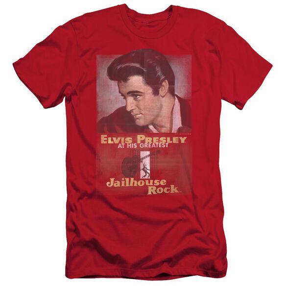 ELVIS PRESLEY JAILHOUSE ROCK POSTER-S/S T-Shirt