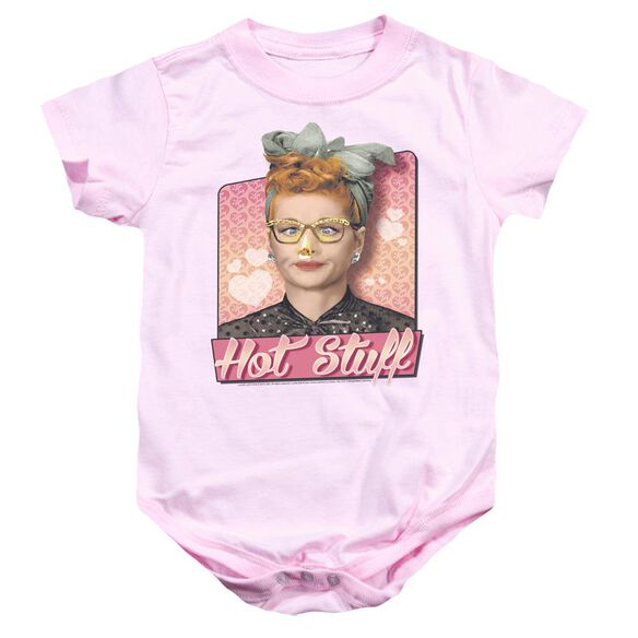 I Love Lucy Hot Stuff Infant Snapsuit Pink