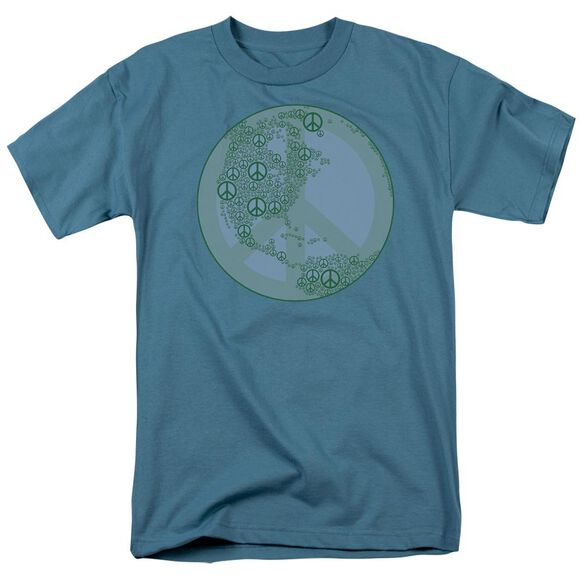 World Peace Short Sleeve Adult Slate T-Shirt