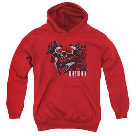 Batman Beyond City Jump Youth Pull Over Hoodie
