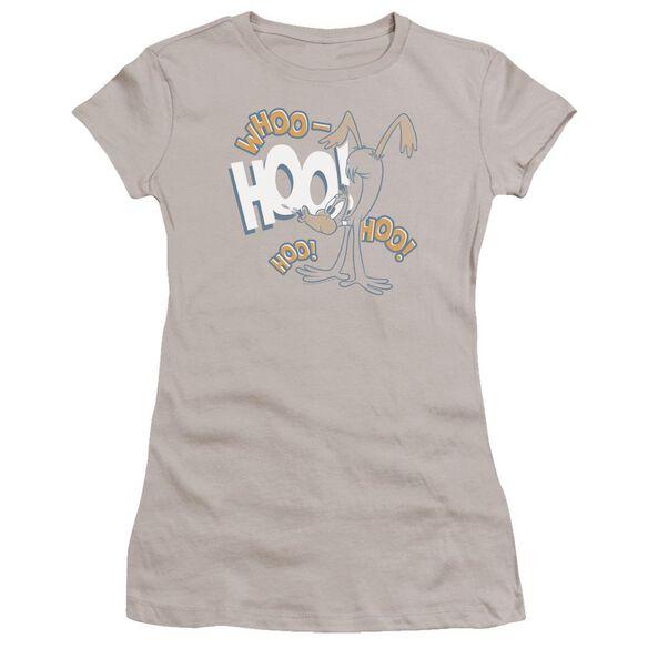 Looney Tunes Daffy Laugh Hbo Short Sleeve Junior Sheer T-Shirt