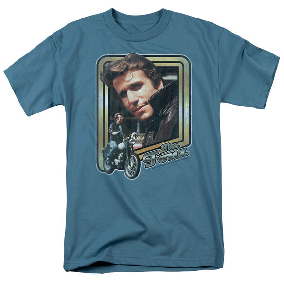 HAPPY DAYS THE FONZ - S/S ADULT 18/1 T-Shirt