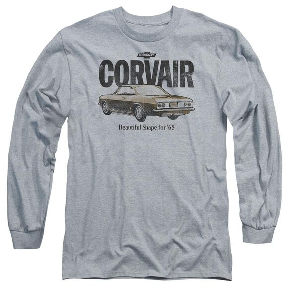 Chevrolet Retro Corvair Long Sleeve Adult Athletic T-Shirt