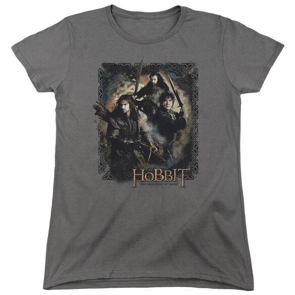 Hobbit Weapons Drawn Short Sleeve Womens Tee T-Shirt