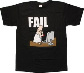Dilbert Fail T-Shirt