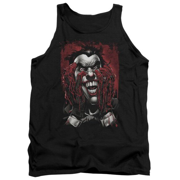 Batman Blood In Hands - Adult Tank - Black