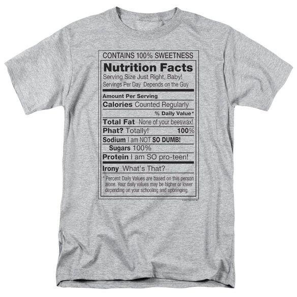 100% Sweetness Short Sleeve Adult Athletic T-Shirt
