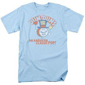 DUM DUMS CLASSIC POP - S/S ADULT 18/1 - LIGHT BLUE T-Shirt
