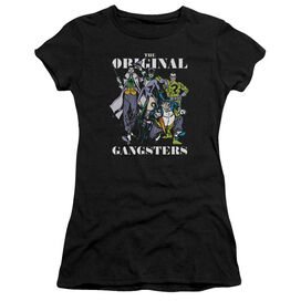 Dc Original Gangsters Short Sleeve Junior Sheer T-Shirt