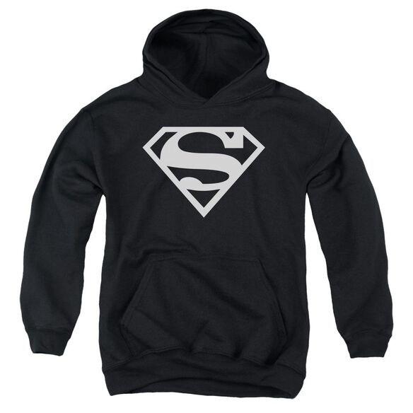 Superman Logo Youth Pull Over Hoodie