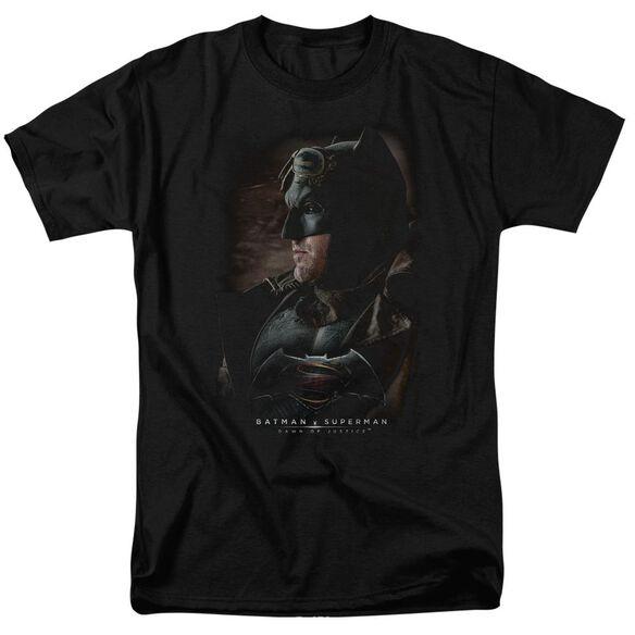 Batman V Superman Desert Gear Short Sleeve Adult Black T-Shirt