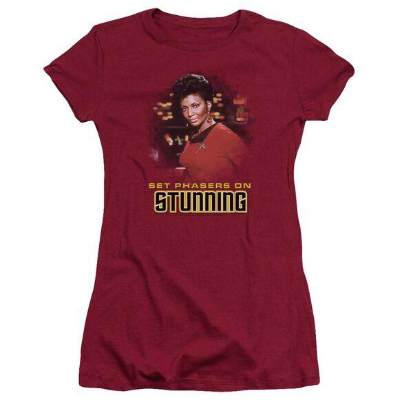 Star Trek Stunning Short Sleeve Junior Sheer T-Shirt