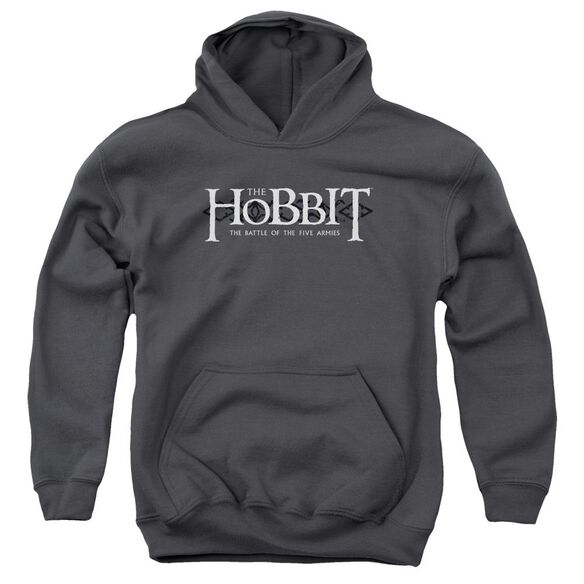 Hobbit Ornate Logo Youth Pull Over Hoodie