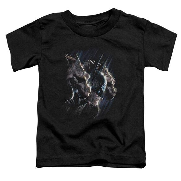 Batman Gargoyles Short Sleeve Toddler Tee Black Md T-Shirt